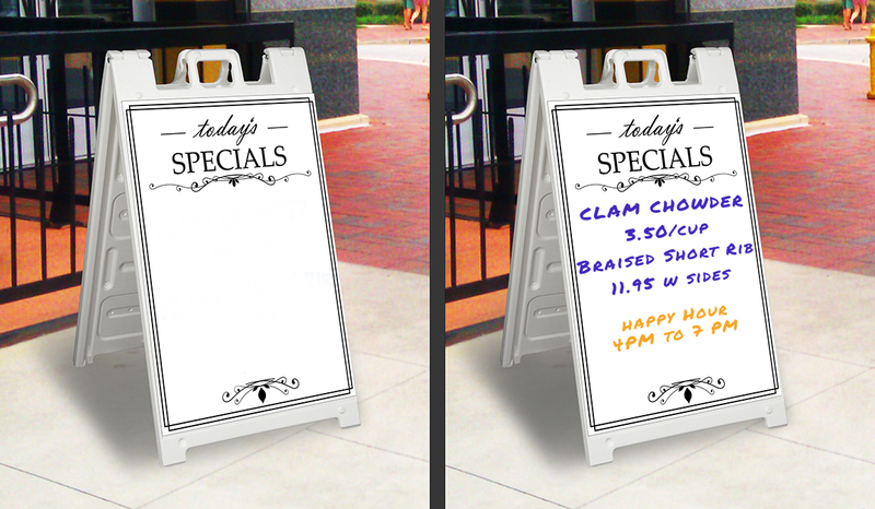Capital City Specialties - A-Frame Sidewalk Signs